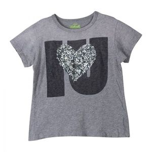 Crewcuts  Collectibles Sequin Heart Tee Shirt